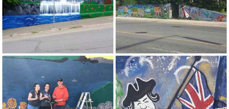 new murals
