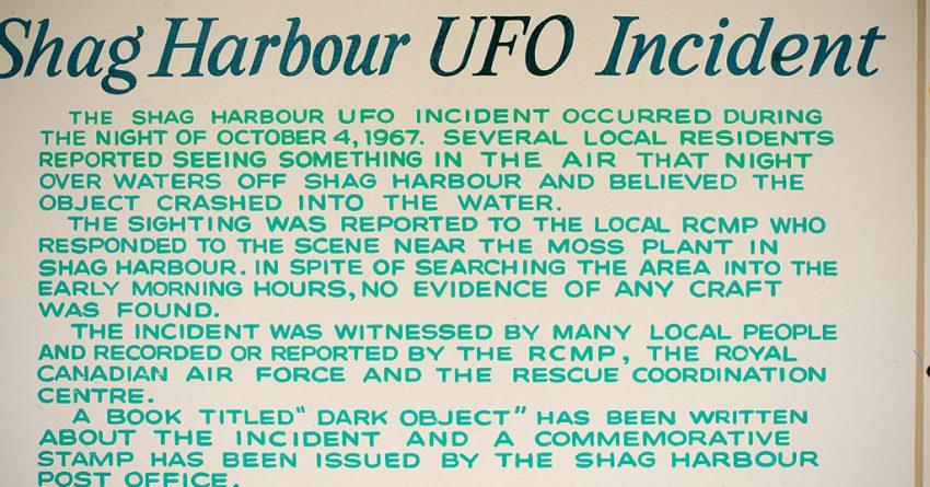 E T Go Home - The Shag Harbour UFO Incident - Blog - K100