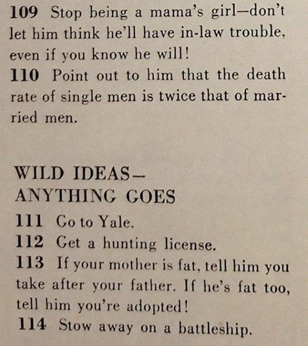 ":129 Ways To Get A Husband"""
